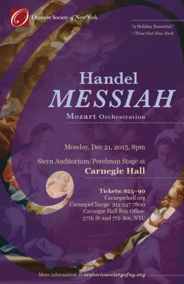 Concert postcard (front)