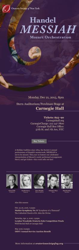 Concert e-flyer